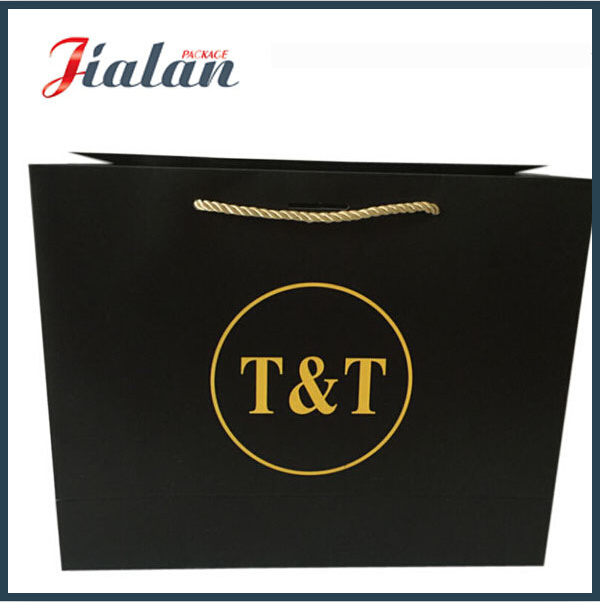 Blank Cheap Wholesales White Logo Printed Custom Paper Bag pictures & photos