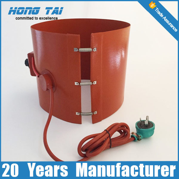 Silicone Rubber Material Oil Drum Heater