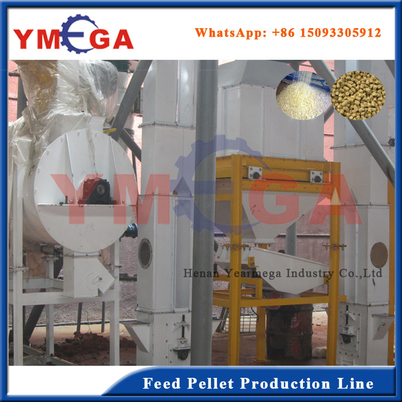 Turkey Plant Animal Feed Pellet Machine Production Line pictures & photos