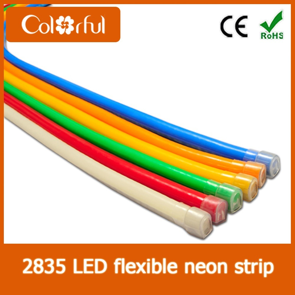 China High Quality Ac230v Smd2835 Led Neon Flex Rope Light Ultra Bright Lamp For