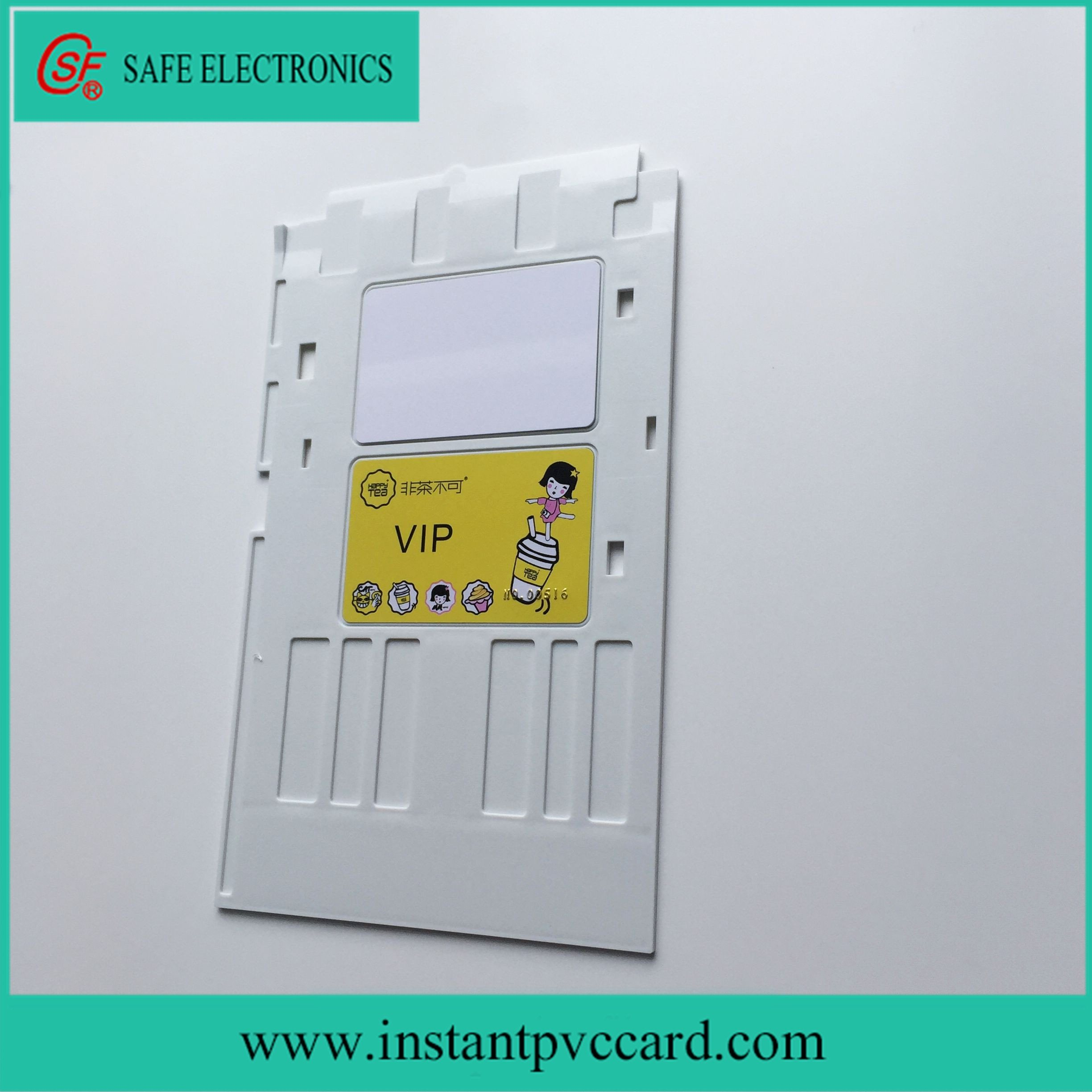 White Ink Printing PVC Card Tray for Epson P50 Printer