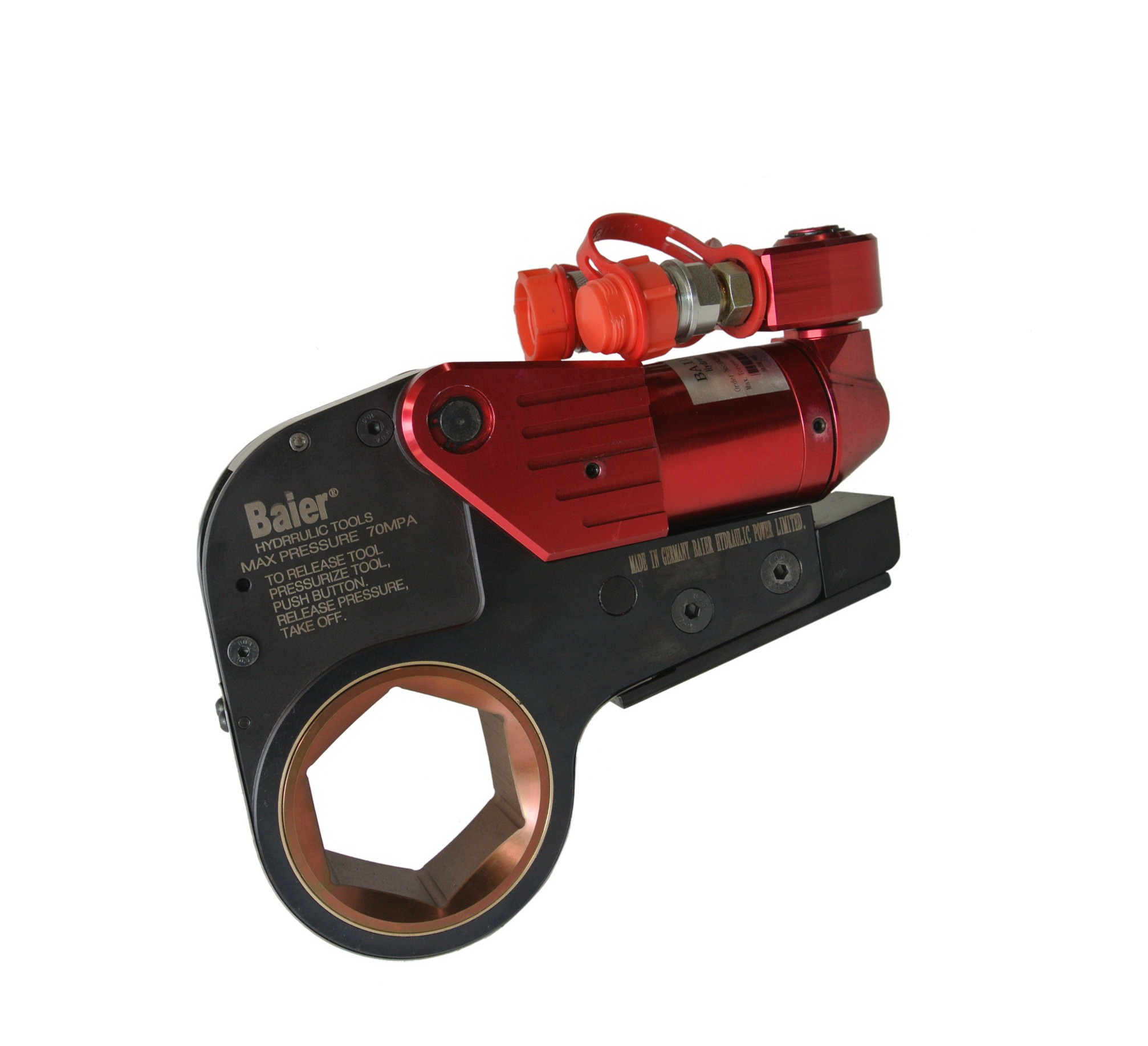Hex Bolt Type Low Profile Hydraulic Torque Wrench