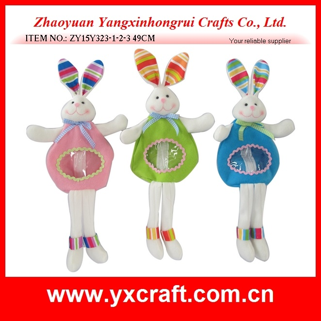 Easter Decoration (ZY15Y342-1-2-3) Easter Fabric Decoration Art Craft