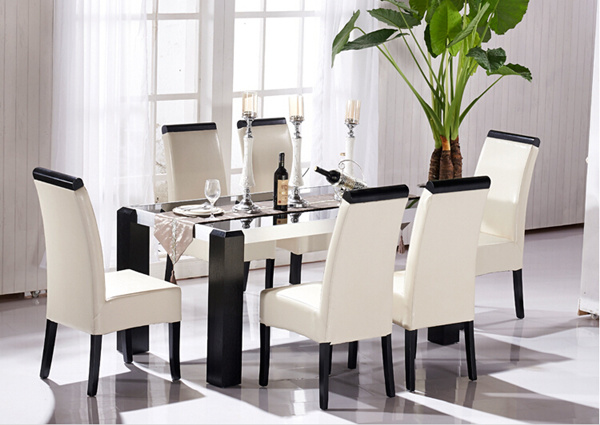 Hotel PU Leather Dining Chair with High Quality (M-X1084)