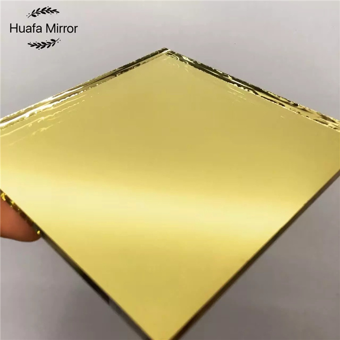 China Silver Golden Color Mirror Sheet 3 10mm Mirror Glass Decorative China Silver Mirror Mirror Glass