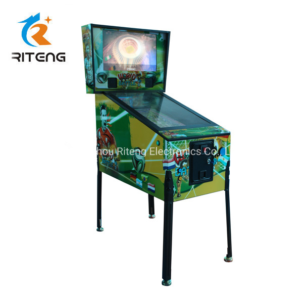 [Hot Item] World Cup 3D Virtual Pinball Game Machines for Club