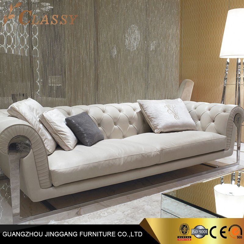 Luxury Leatherette Sofa Chester