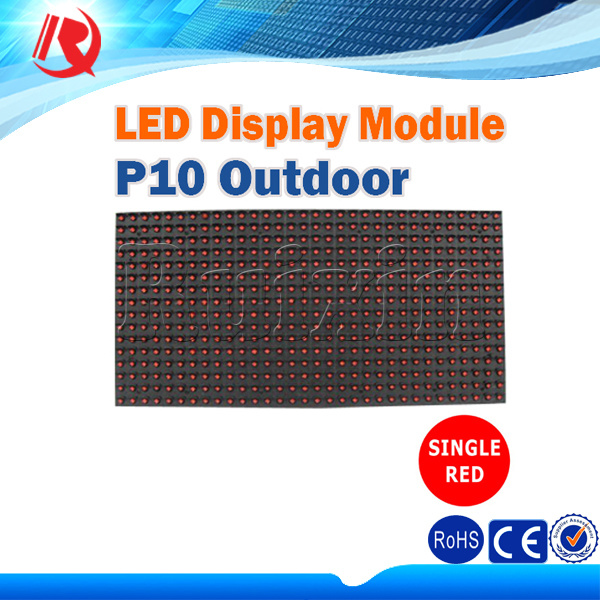 Customized P10 Red/Blue/Yellow/Green/Blue Outdoor LED Sign Board LED Display