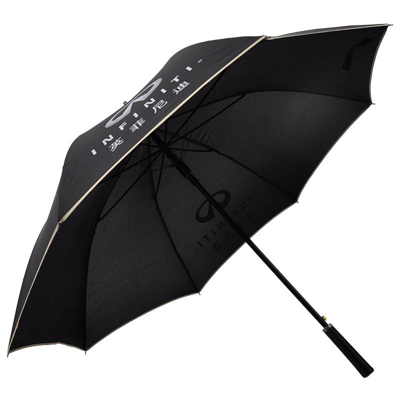 I Need A Huge Amount Of Money Automatic Tri-fold Umbrella Folding Rain Umbrell Sunshade