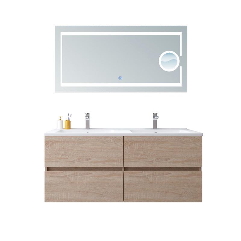 China Melamine Bathroom Cabinet Double, Bathroom Cabinets Double Sink