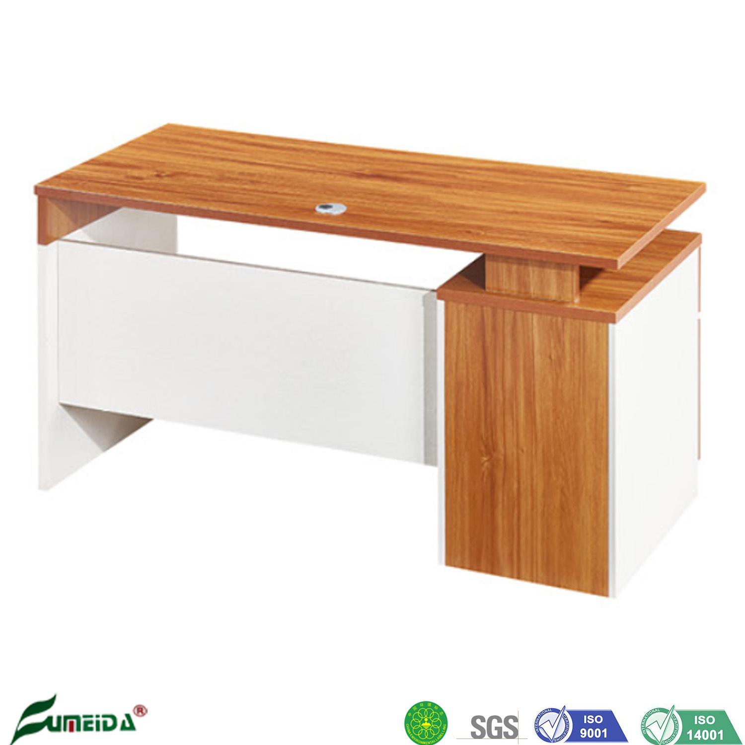 [Hot Item] Modern Style Hot Sale Wholesale Cheap Price Simple Design High  Quality Wooden Office Desk for Home and Office Use