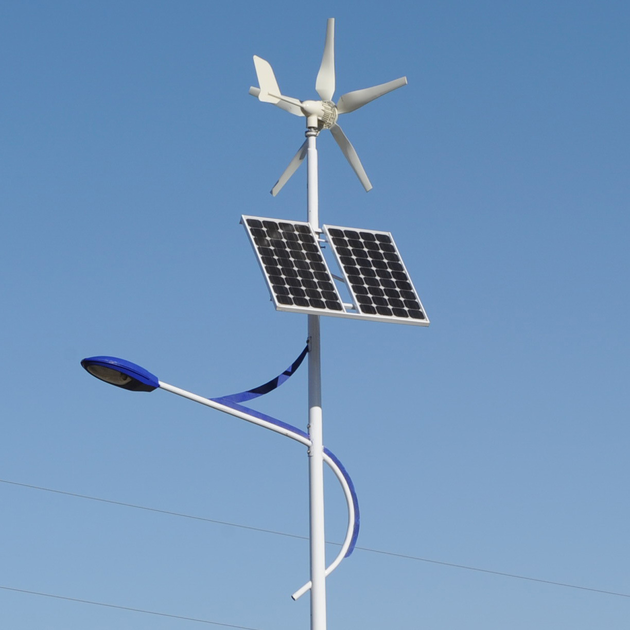 China Wind Solar Hybrid Street Light Led China Wind