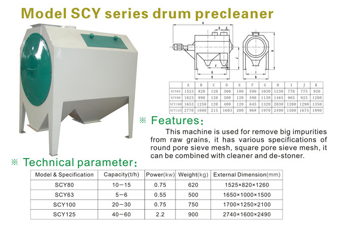 Rice Cleaning Machine (SCY Series)