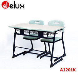 china classical design school furniture college student desk and