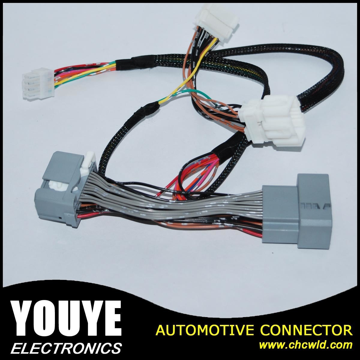China High Quanlity Electronic Automotive Wiring Harness For Honda Connectors Wire Cable