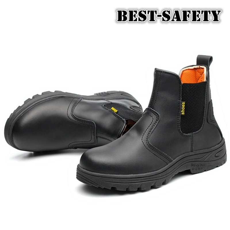 China Safety Boots Work Boots Steel Toe Boots Hot Selling Chelsea Boots China Safety Boots And Work Boots Price