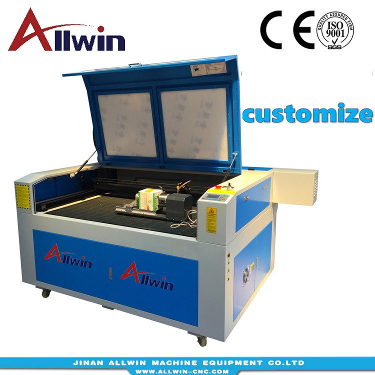 Black Regular Rotary Axis For 50W 60W 80W 100W Laser Engraver Engraving Machine