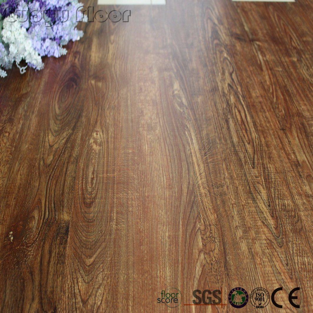 China Loose Lay Indoor Use Wood Luxury Vinyl Plank Flooring Floor Plastic