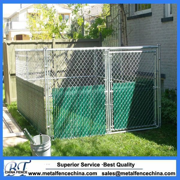 China Big Dog Use Metal Chain Link Outdoor Dog Kennels Cages - China ...