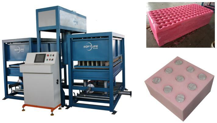 Auto Foaming Machine with Spring Holes pictures & photos