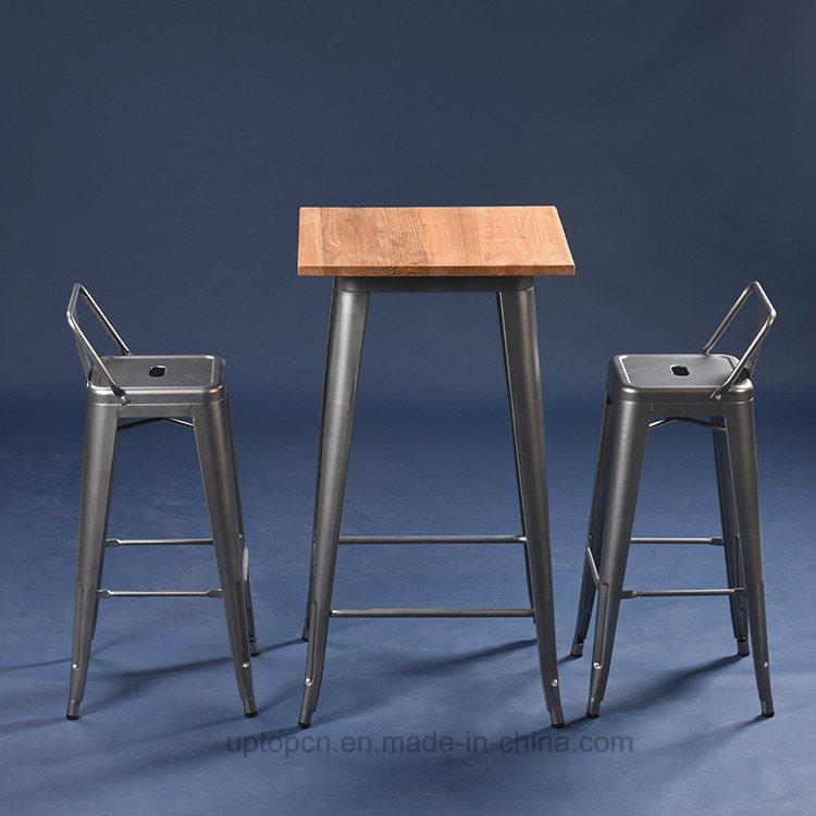 China Xavier Vintage Metal Tolix Bar Table Chair Set Sp Bt701