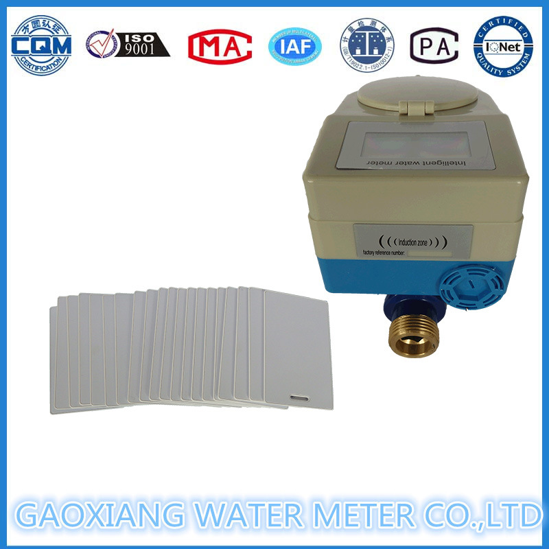 Brass Body Prepaid RF Card Water Meter pictures & photos