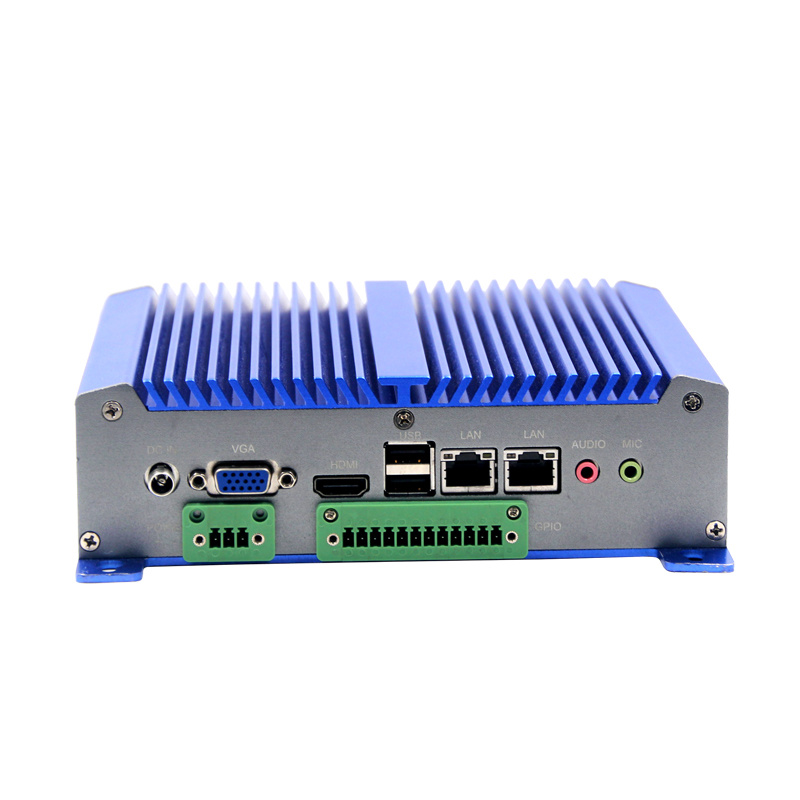 Industrial Mini Computer Mini Thin PC Network Computer with Fanless Processor