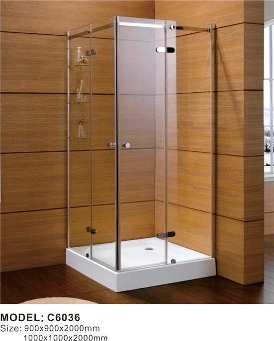 China Whirlpool Steam Massage Tempered Glass Bathroom Shower ...