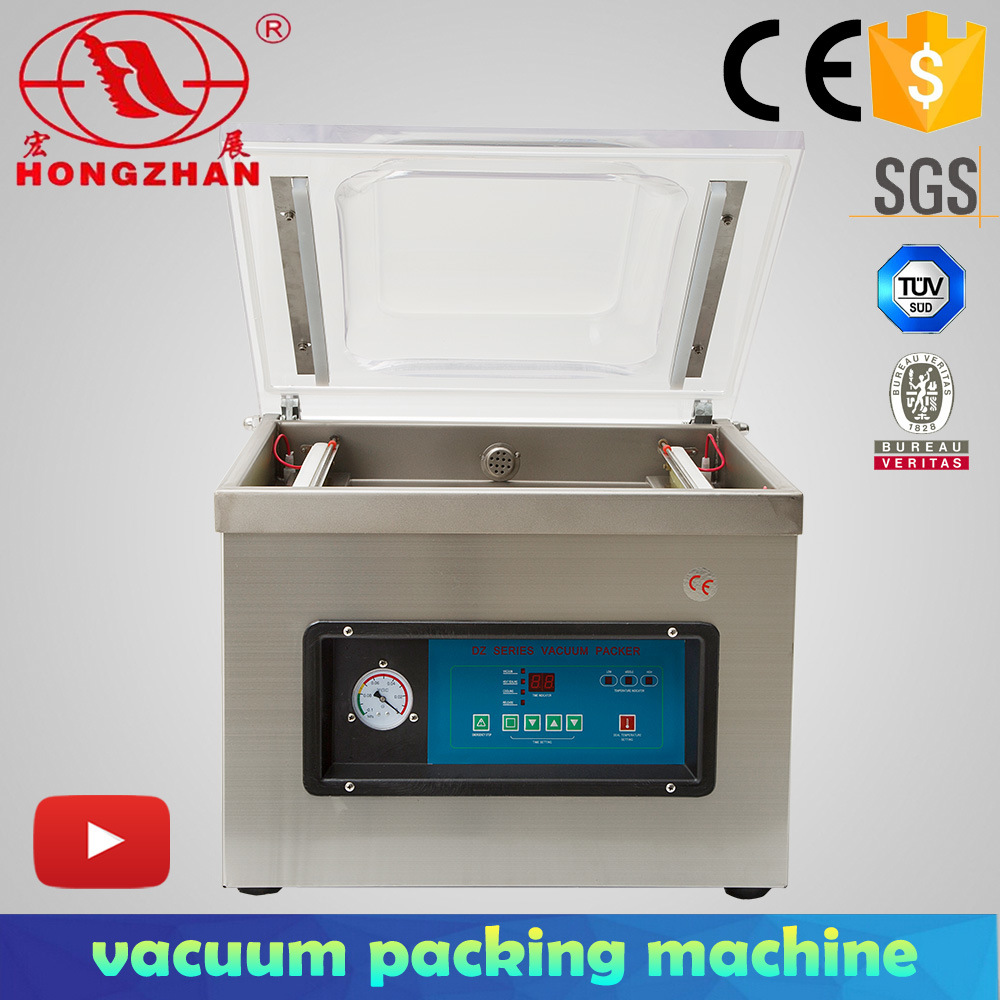 China Vacuum Packing Machine With Nitrogen Gas Flush And Automatic Sealing