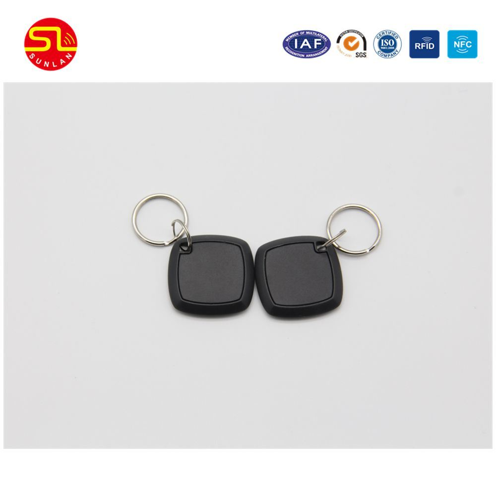 China Wholesale Custom Plastic MIFARE Key Ring Tags Keychain Qr Code