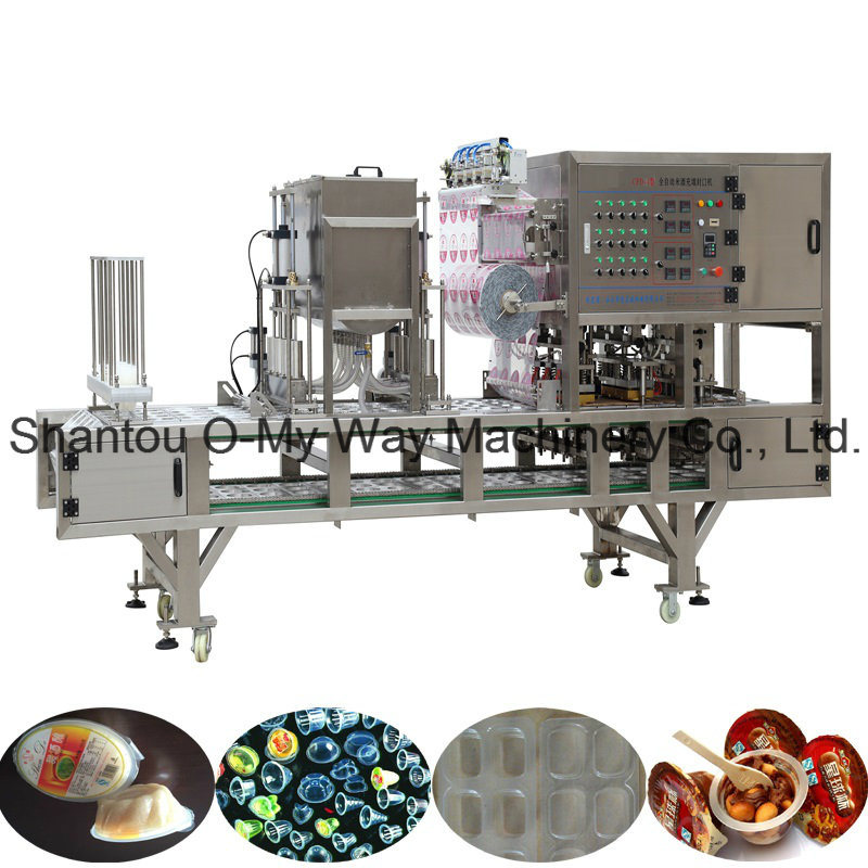 Star Shape Jelly Cup Filling and Sealing Machine
