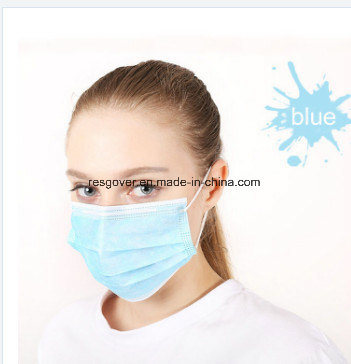 Non Ply 3 Item Surgical Woven hot Mask Face With Medical Earloop Disposable
