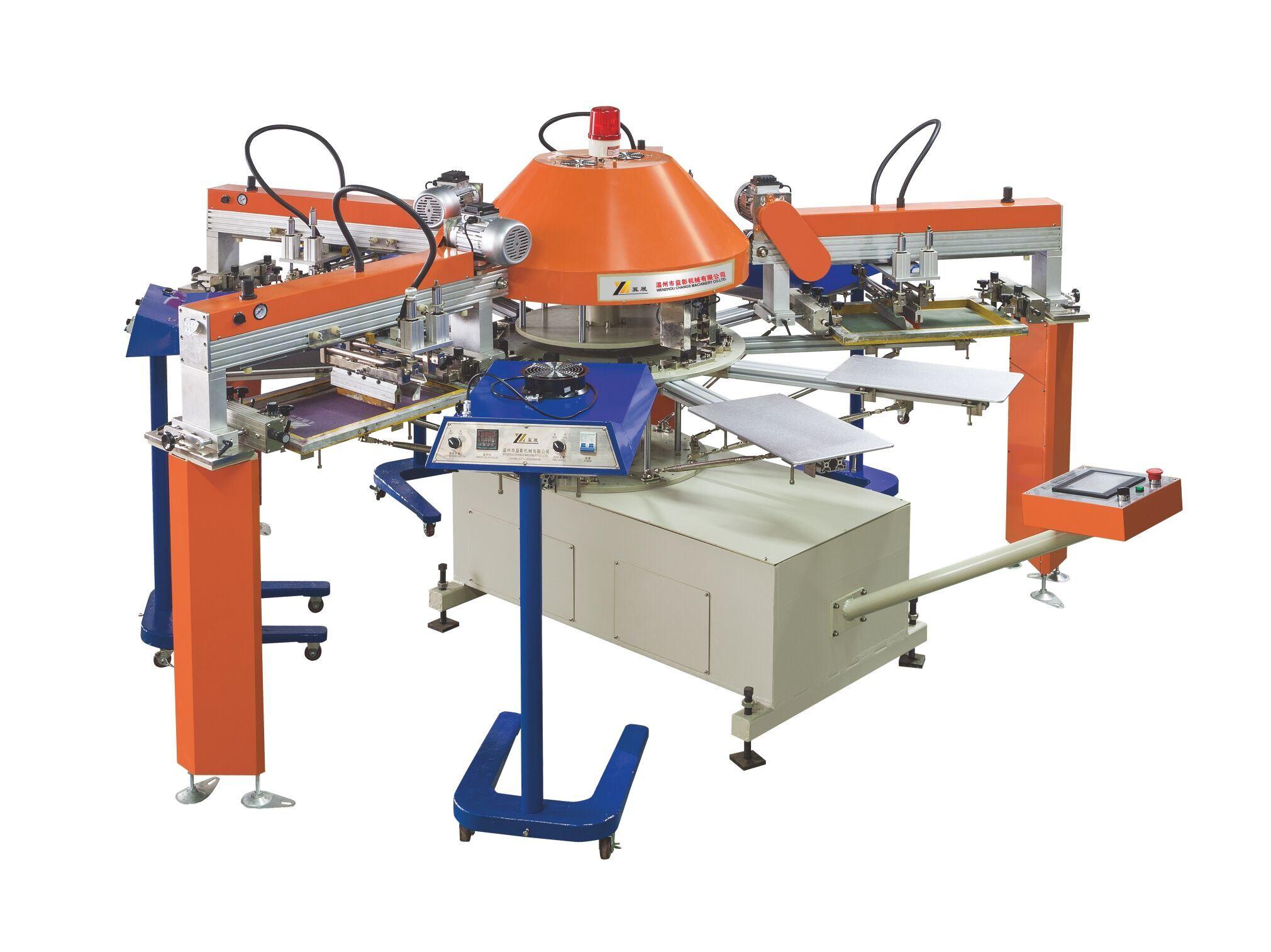 China Spg Custom Automatic T Shirt Screen Printing Machine Price For Sale