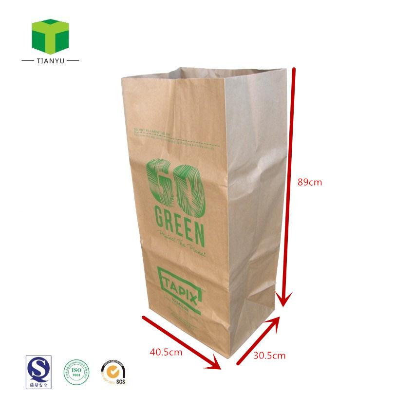 Compole Paper Bag Yard Waste Lawn