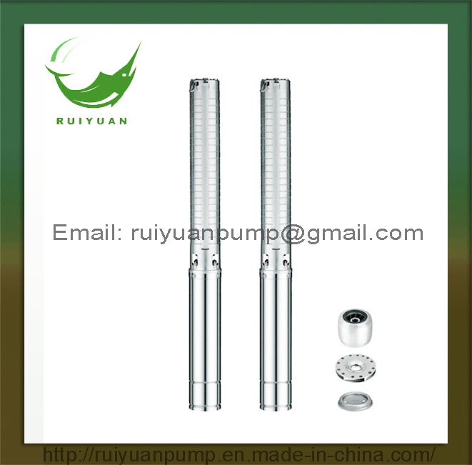 4 Inches 2.2KW 3HP Stainless Steels Copper Wire Deep Well Submersible Water Pump (4SP5/25-2.2KW)
