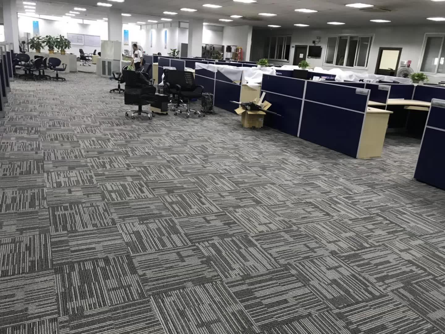 China Best Quality Pvc Backing Office Commercial Carpet Tiles Building Materials Floor Carpet Tile Tufted Nylon Carpet Tiles China Carpet Tile And Office Carpet Price