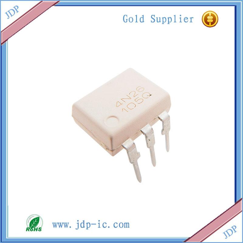 China 4n26 General Purpose 6-Pin Phototransistor