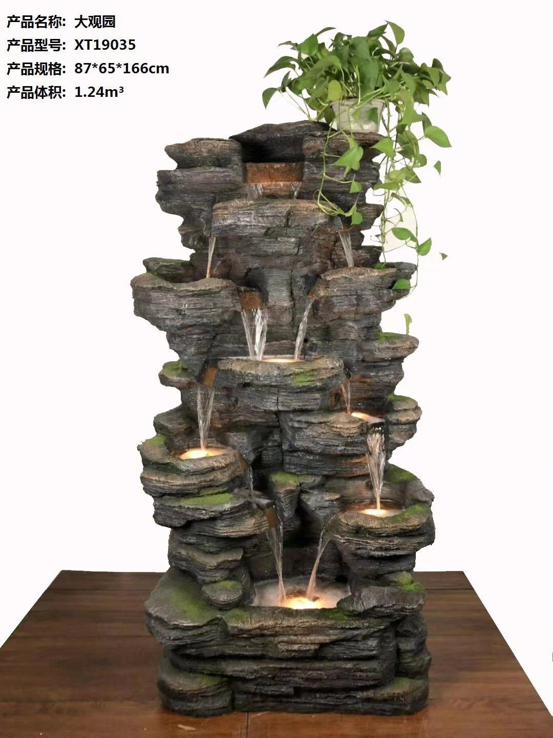 China Granite Marble Outdoor Water Fountain for Garden