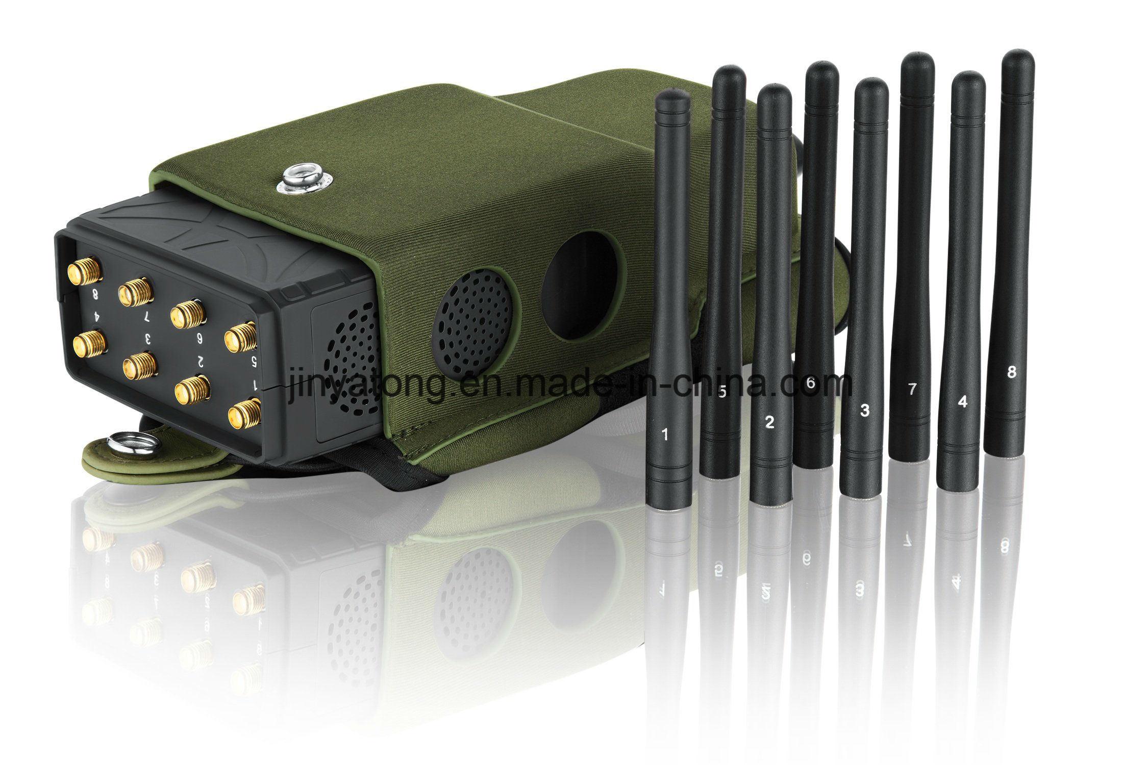 China Lojack Signal Breaker Mobile Phone Jammer GPS Blocker with 8