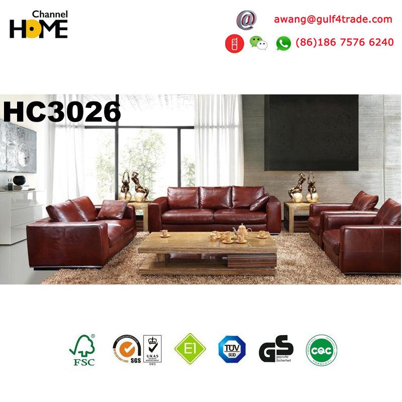 china italian european design genuine leather sofa hc3026 photos