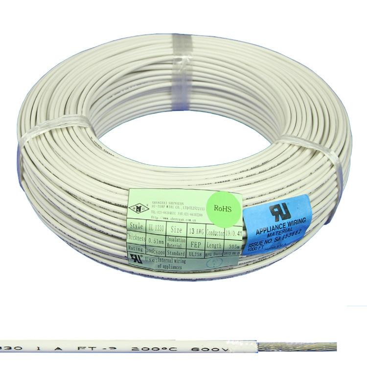 China UL1332 Heatproof FEP Teflon Cover Electric Wire Photos ...