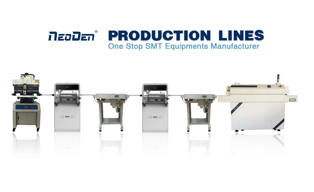 SMT Production Line: Neoden*2+Ys600+T8l+J10*2