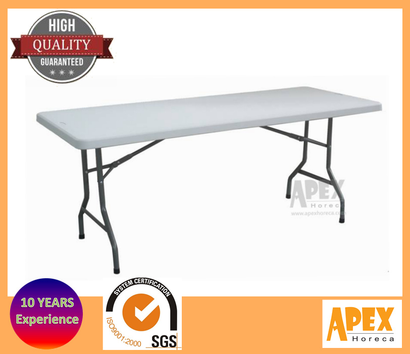 china plastic folding rectangular table banquet table hotel