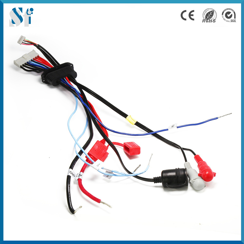 China Custom S-Video Connector Electrical Communications Wiring Harness for  Marine - China Communications Wiring Harness, Electrical Wire Connector