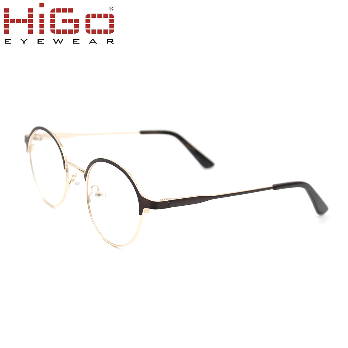 c64904e8d1 China Round Stainless Steel Glasses Newest Metal Optical Frame in ...