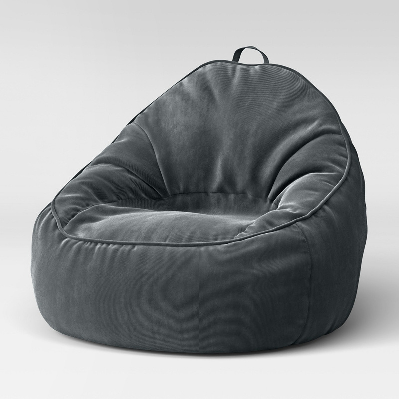 China Floor Velvet Bean Bag Sofa Chair