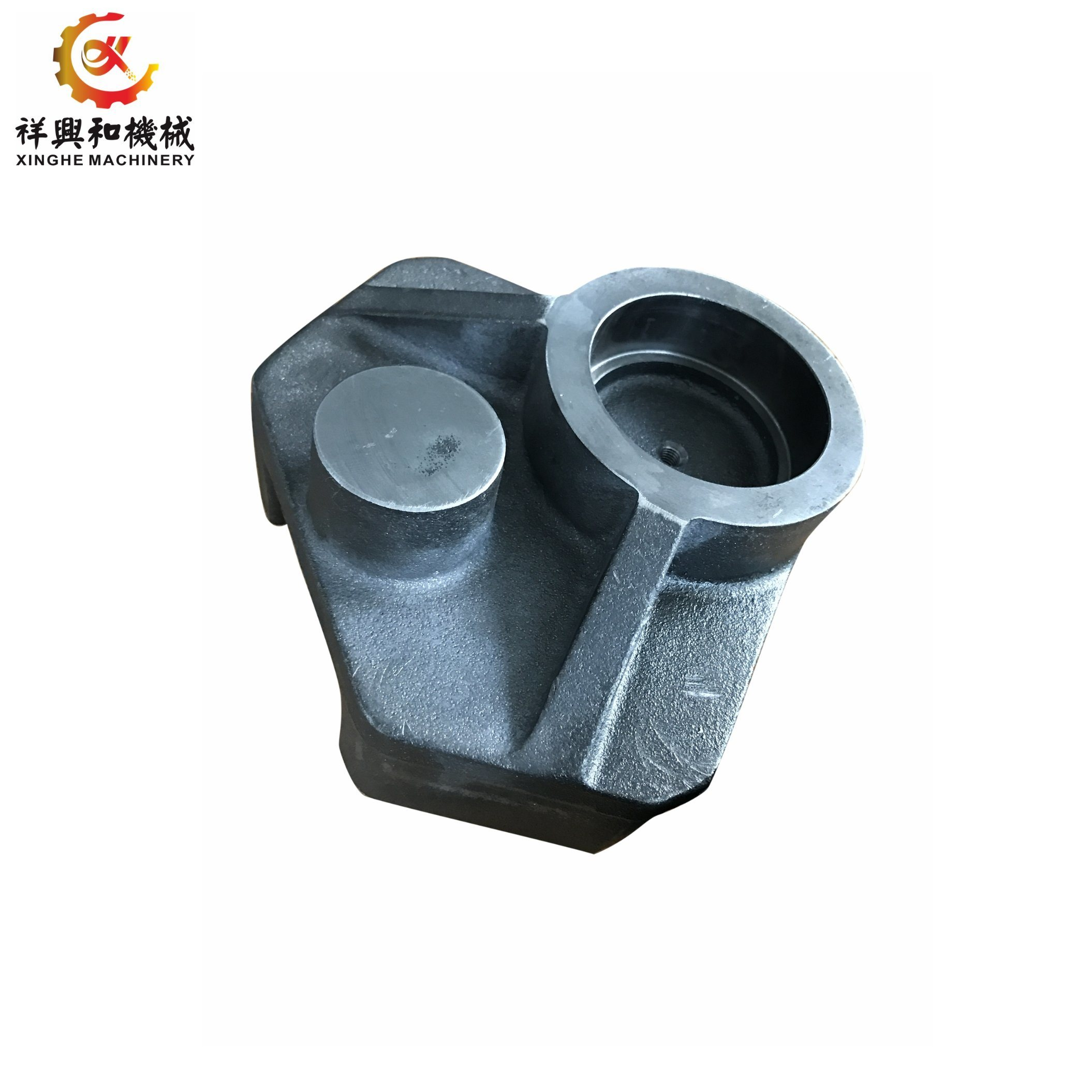 Custom Sand Casting Ductile Iron Fcd 450-550 with Black Powder Coat pictures & photos