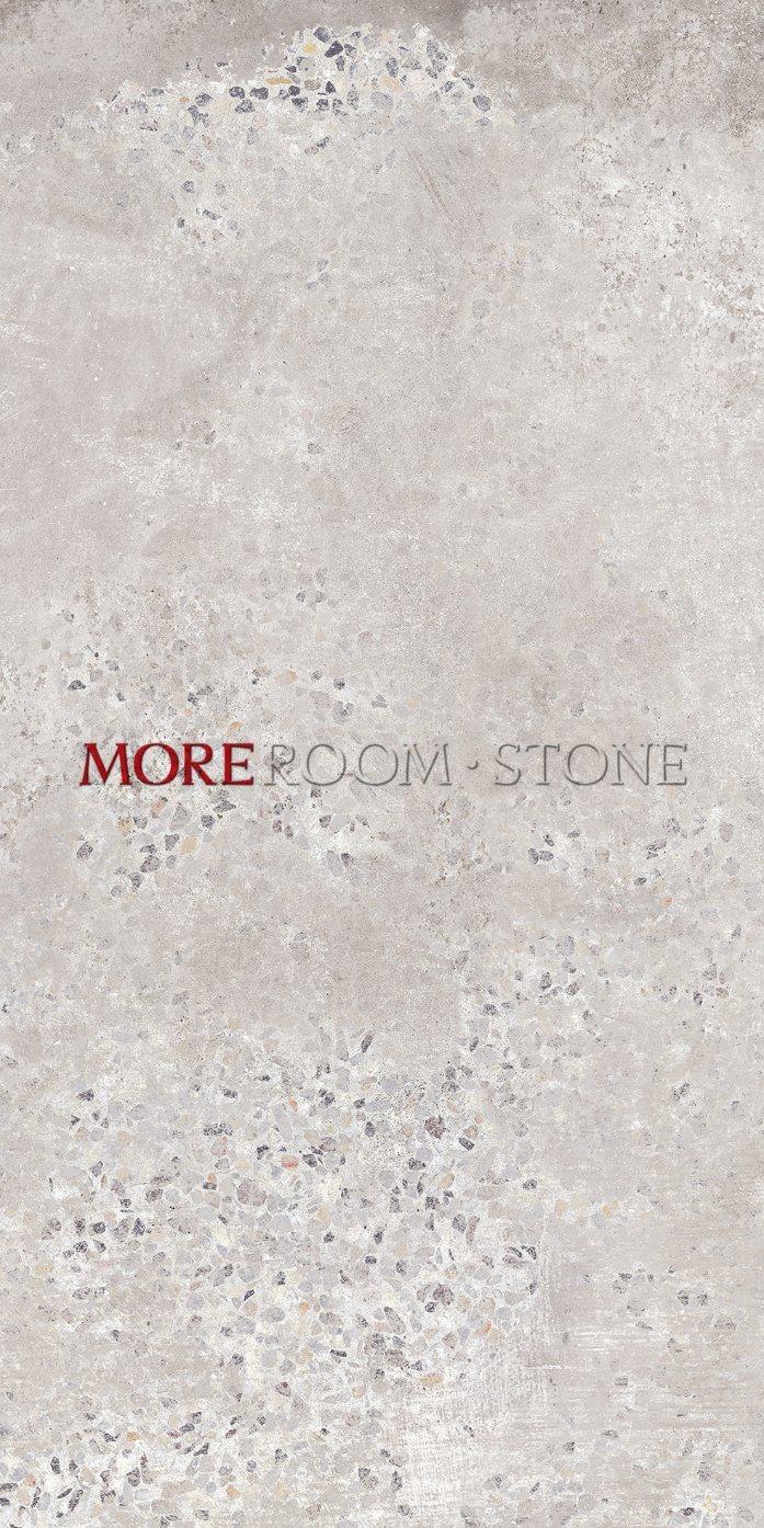 Hot Item Moreroom Stone Light Beige Rustic Terrazzo Look Tiles Floor