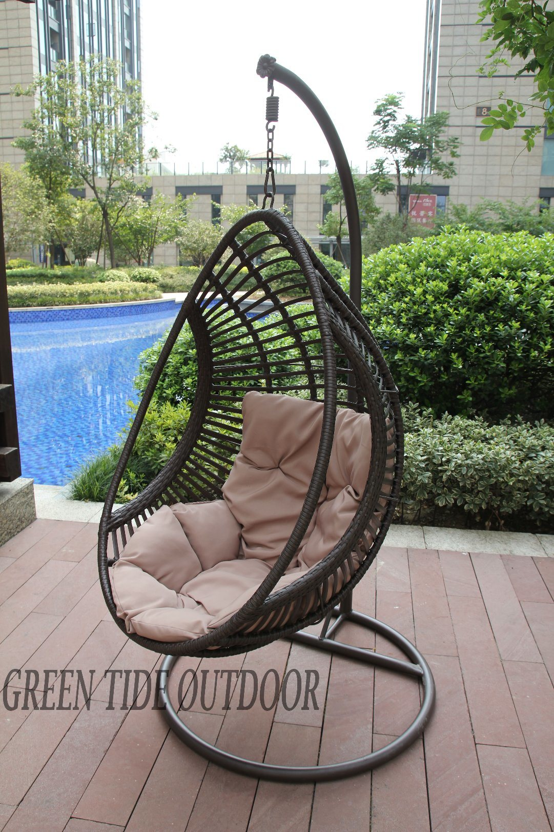 China Outdoor Garden Patio Home Furniture Rattan Drop