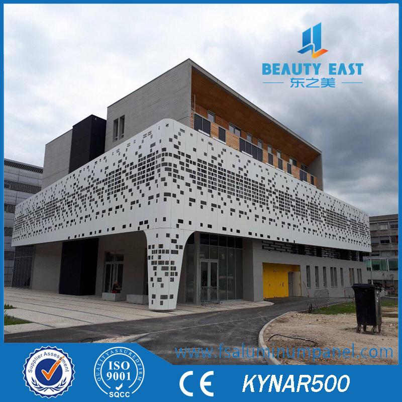 [Hot Item] Facade Wall Cladding Materials Decorative Aluminum Panels